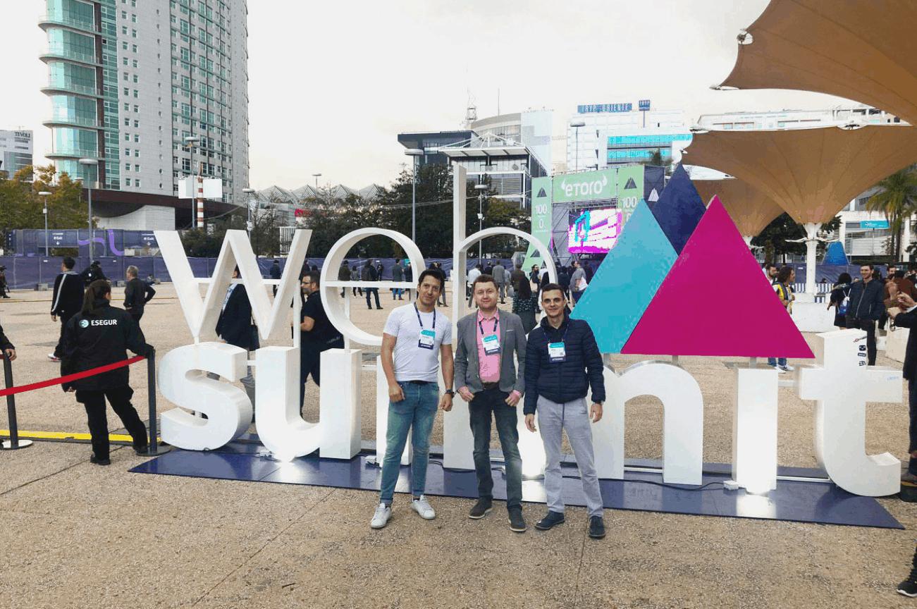 cx dojo team at web summit