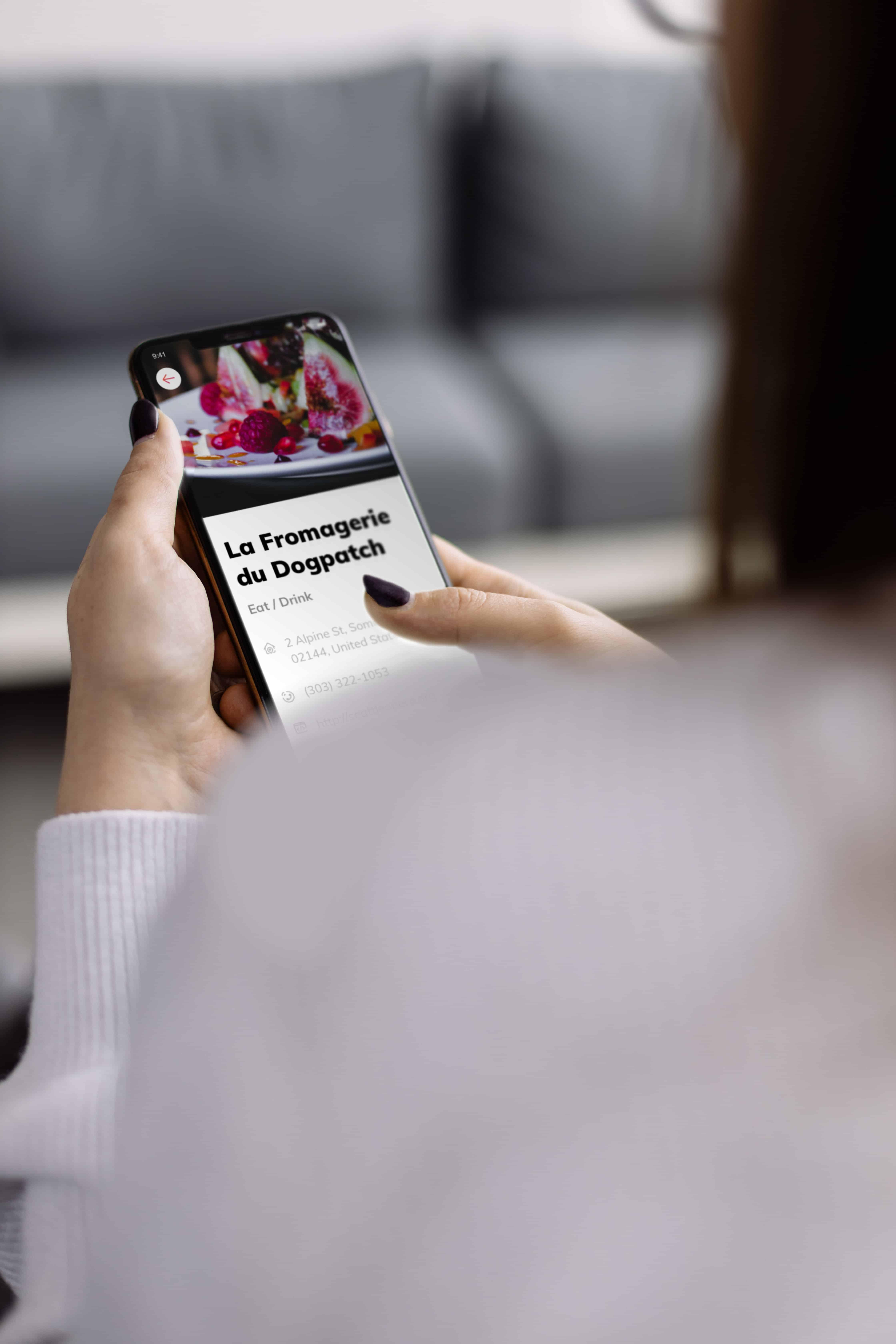 restaurant mobile app design