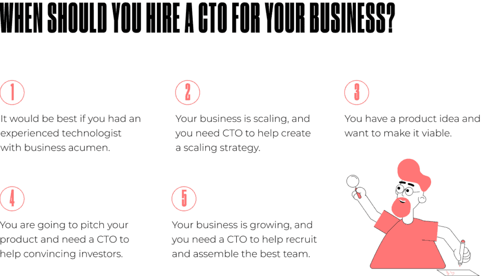 when should you hire a CTO for your business